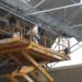 Comienza la rehabilitación de la cubierta y retirada de residuos del polideportivo Manuel Cadenas de Leganés