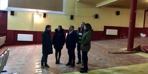 El Teatro-Cine Carlos III de La Carolina en Jaén renueva su cubierta por otra más sostenible