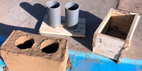 Nuevos materiales de construcción provenientes de desechos agrícolas