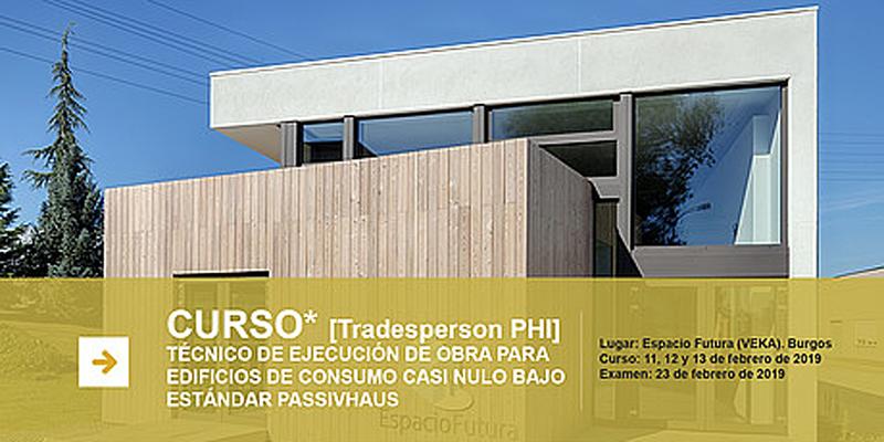 cartel informativo curso passivhaus