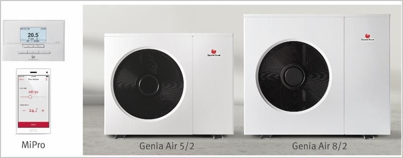 Figura 3. Aerotermia Genia Air de la marca Saunier Duval.
