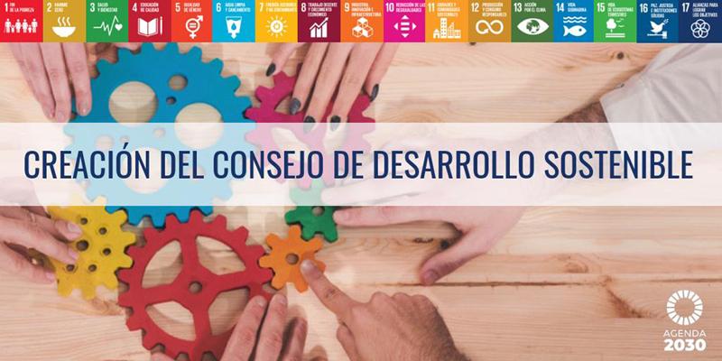 creación del consejo de desarrollo sostenible