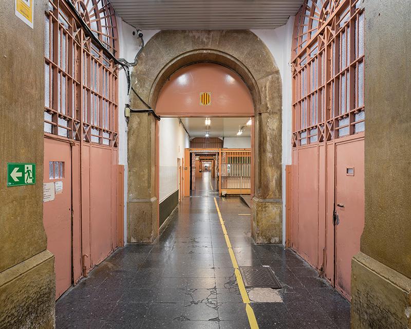 interior de la cárcel la modelo