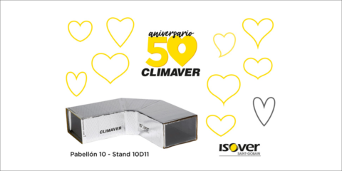 Isover presentará sus novedades en aislamientos sostenibles en su stand interactivo de C&R 2019 en Madrid