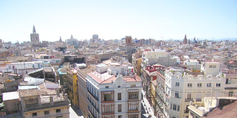vista de la ciudad de valencia