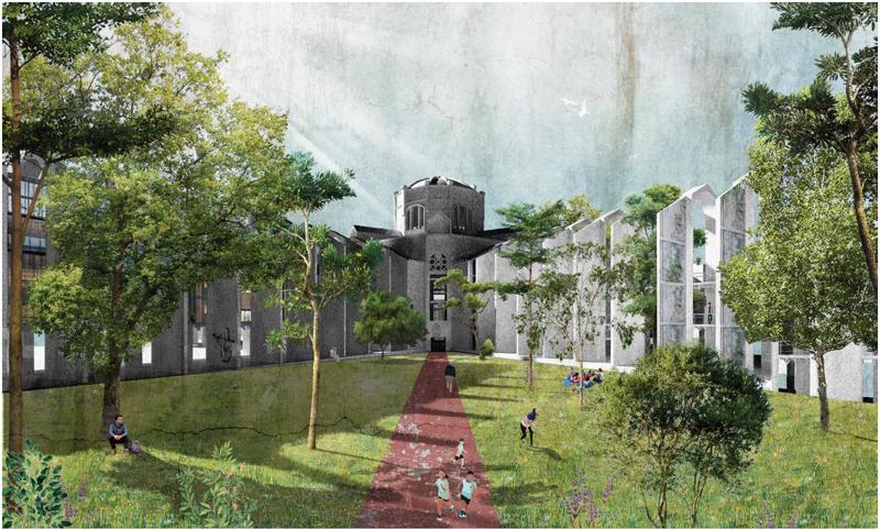 la modelo regeneración urbana barcelona espacio verde 1