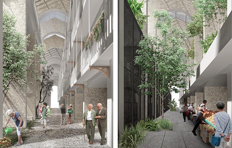 la modelo regeneración urbana barcelona espacio verde 2