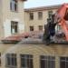 Reutilizan los materiales del edificio original para la construcción del nuevoPabellón de Filología de la Universidad de Zaragoza