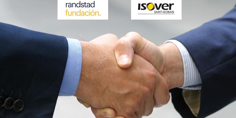 Fundación Randstad ha renovado el acuerdo de colaboración con Saint-Gobain Isover