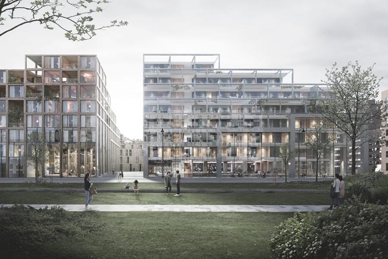 UN17 Village aldea ecológica de Copenhague zonas verdes