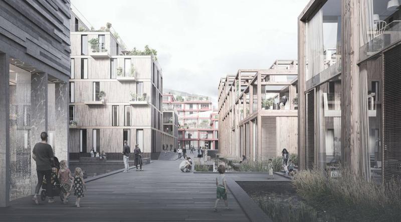 UN17 Village aldea ecológica de Copenhague imagen interior