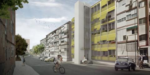 """Case study: """"Renove Manoteras"""" San Pedro de Cardeña 50- Rehabilitación energética y eliminación de barreras arquitectónicas"""