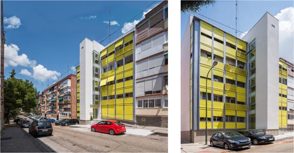 Figura 3. Imágenes del edificio después de la Rehabilitación.