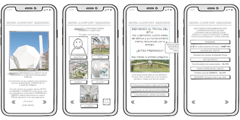 Propuesta de participación activa del usuario a través de las TICs para alcanzar objetivos EECN. Prototipo App móvil en un edificio singular de Madrid