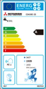 Figura 12. Etiqueta energética según LOT2 de Q-TON.