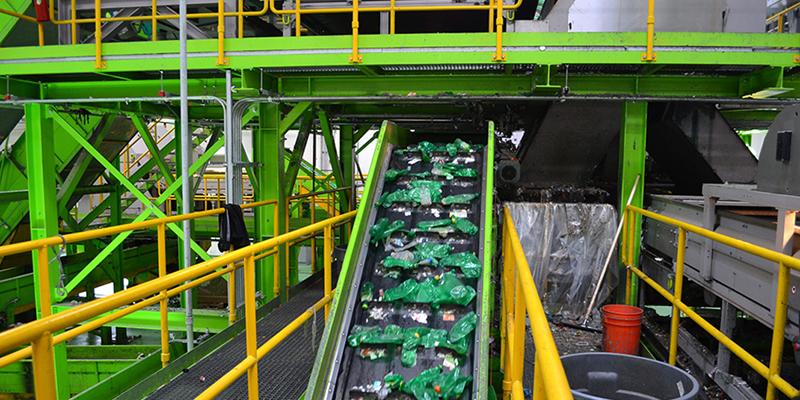 reciclaje para una economía circular en Andalucía