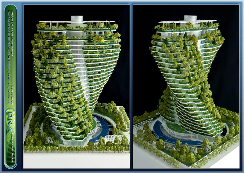 El jardín vertical es una de las estrategias para conseguir los objetivos ecológicos.
