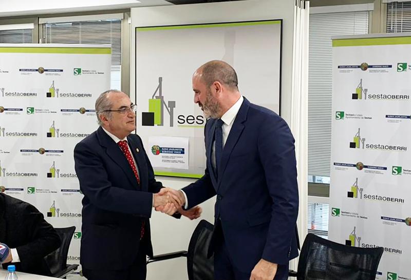 Gobierno Vasco y Ayuntamiento de Sestao acuerdan la regeneración urbana