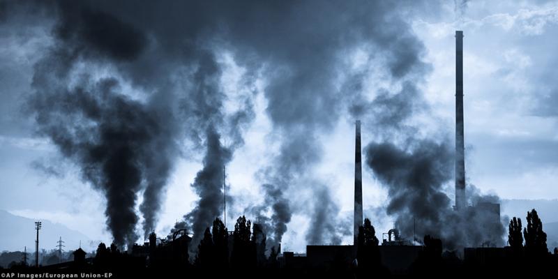 reducción de emisiones GEI de la UE