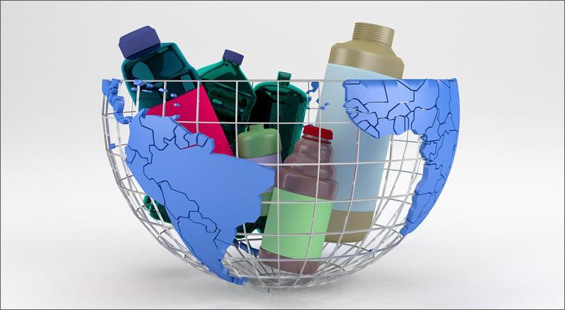 gestión de los residuos municipales: recogida, transporte y tratamiento final.