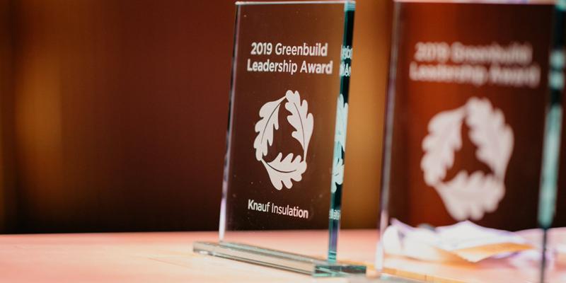 Knauf Insulation recibe el reconocimiento de cosntrucción sostenible de USGBC