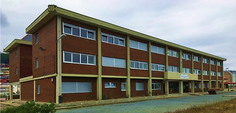Figura 1. Imagen estado reformado del colegio CEP Luís Tobío rehabilitado energéticamente (Viveiro, Lugo).