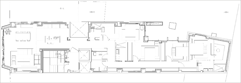 Figura 2. Planta de una vivienda tipo I.