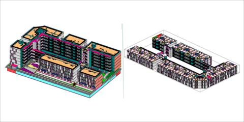 Comienza la construcción en Móstoles de la primera promoción de viviendas industrializadas en altura
