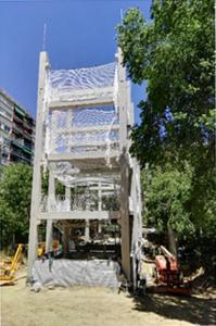 Figura 7. Estructura prefabricada.