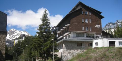 Hotel Tobazo, rehabilitación en alta montaña
