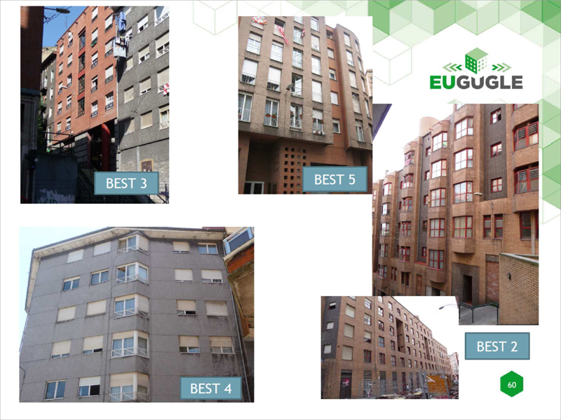 4 edificios rehabilitados sestao