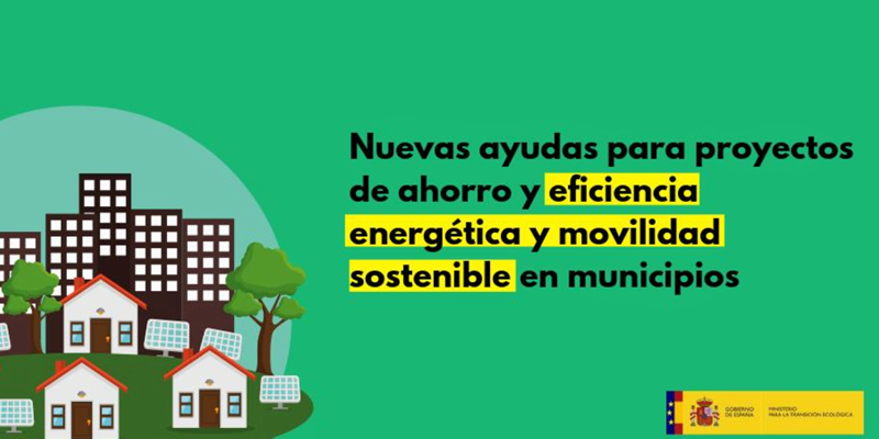 ayudas eficiencia energetica y movilidad sostenible