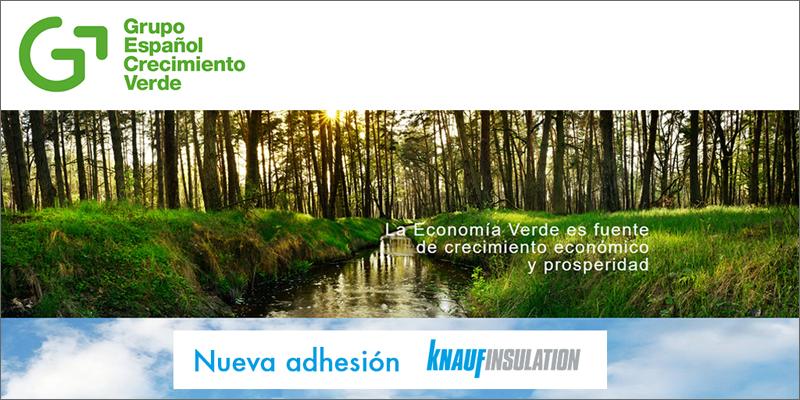 adhesión de knauf insulation al grupo español crecimiento verde