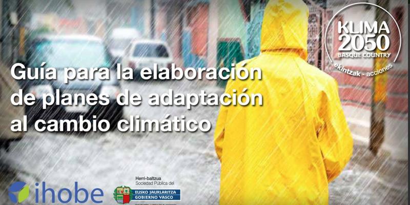 guía cambio climático ihobe