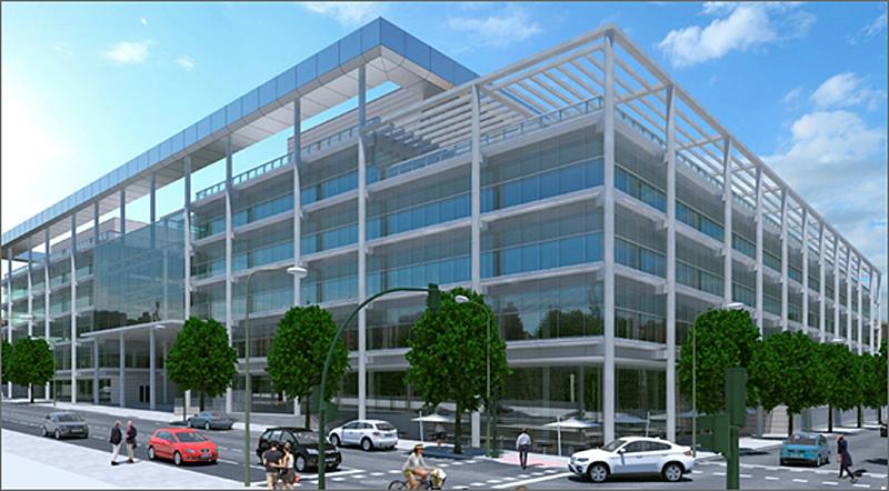 Figura 1. Nuevo edificio OM∞, de TORRE RIOJA.