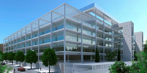 Nuevo complejo empresarial de 39.000 m2 y 1.240 plazas de aparcamiento en Madrid, LEED Platinum y de consumo de energía casi nulo Torre Rioja-Madrid