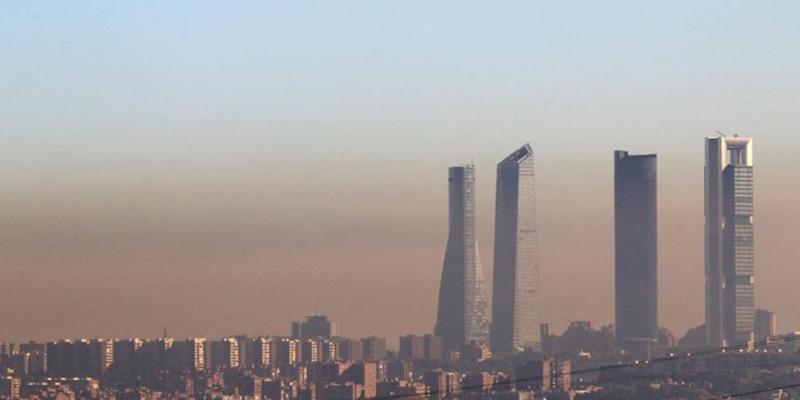 atmósfera contaminada
