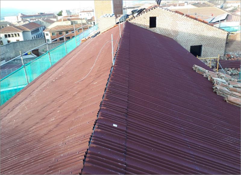 rehabilitación tejado por Onduline