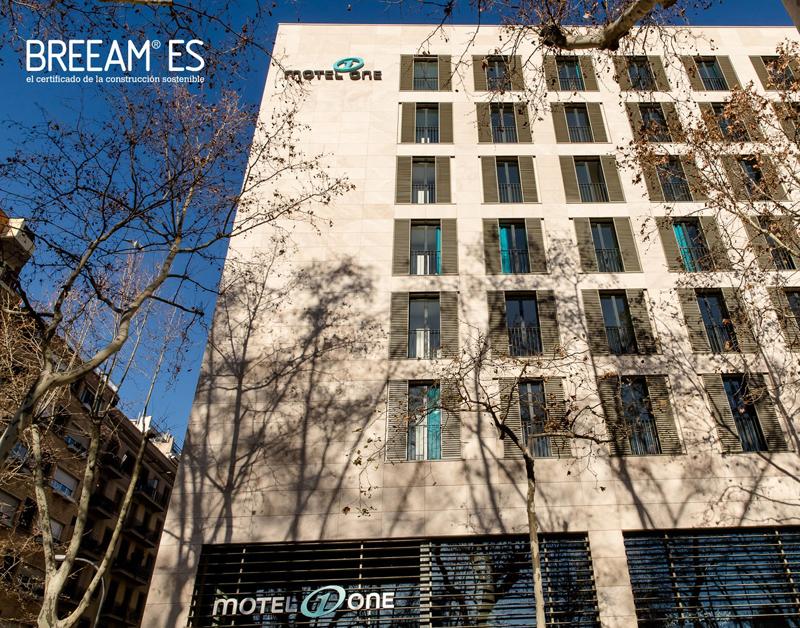 motel one sostenible en barcelona