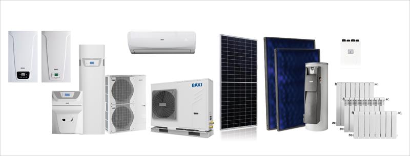 Productos de climatización de BAXI.