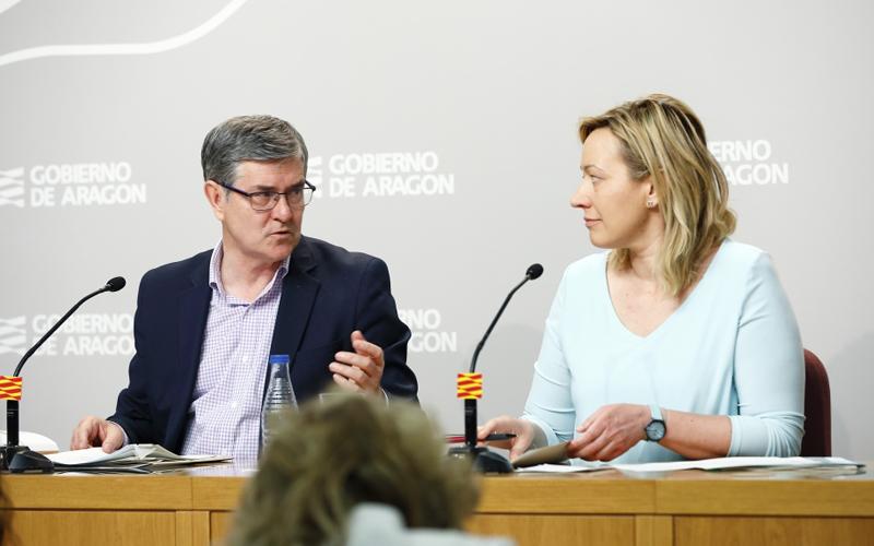 representantes del consejo de gobierno Aragón