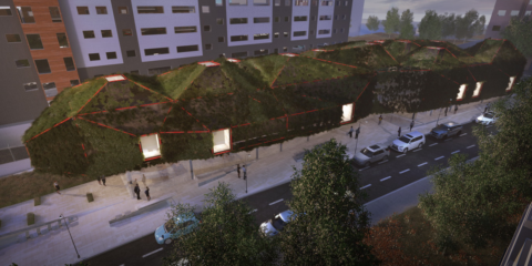 La biblioteca sostenible 'The Green Spaceship', ejemplo de integración urbana vegetal en Madrid