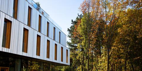 El hotel donostiarra Arima consigue reducir la huella ecológica y el consumo energético con su diseño pasivo