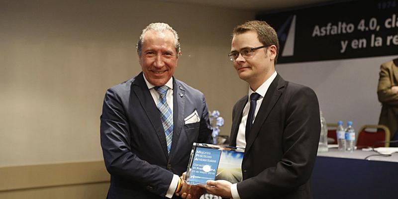 entrega premio Mejores Prácticas Ambientales 2019
