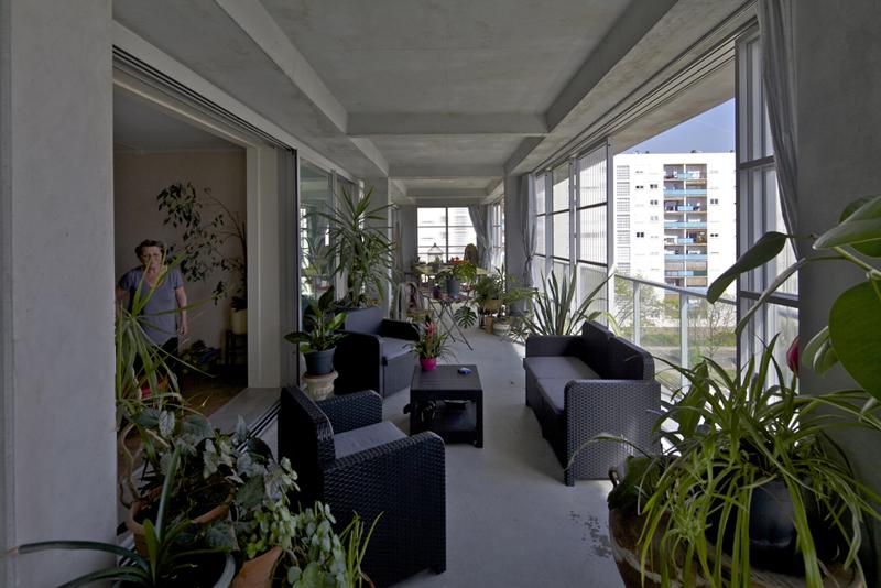Las obras se llevaron a cabo con los inquilinos viviendo dentro.