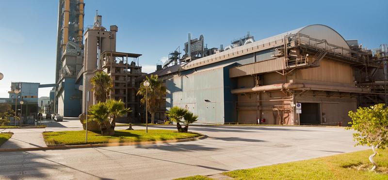 Fábrica de Málaga de heidelberg cement