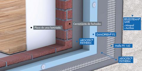 La solución integral de aislamiento térmico de Danosa presentó sus ventajas sostenibles en Construmat