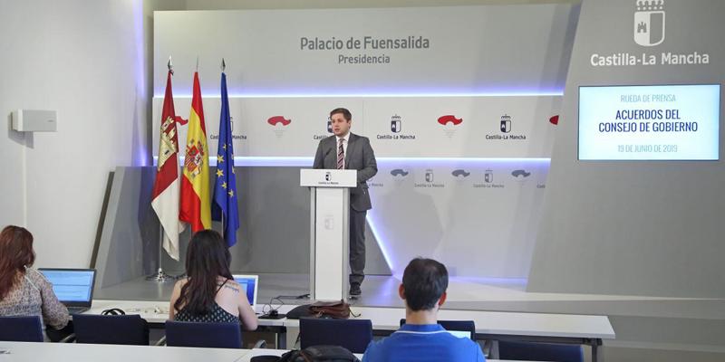 El portavoz en funciones del Gobierno regional, Nacho Hernando,