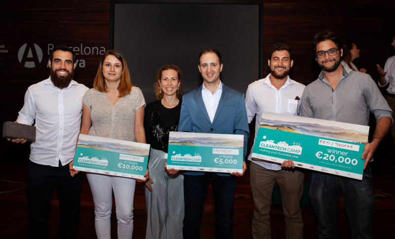 ganadores de Cleantech Camp