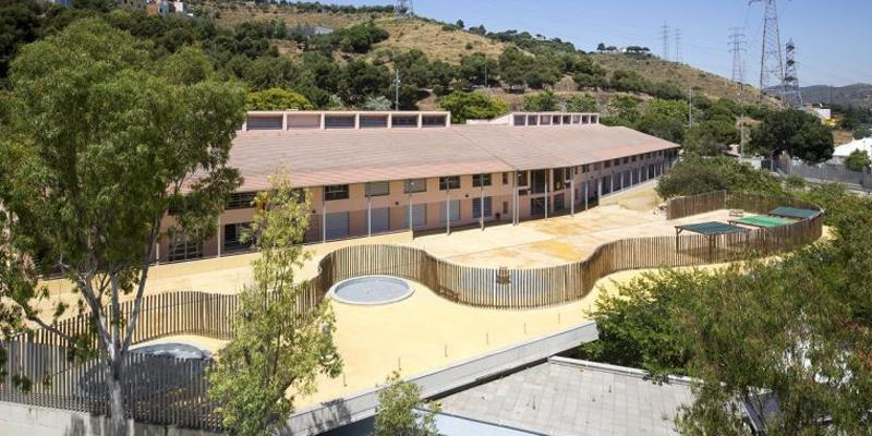 escuela barcelona que será refugio climático